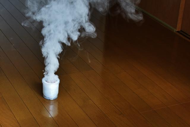 殺虫スプレーやバルサンなどのくん煙剤が便利