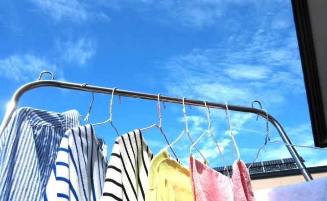 家を空ける前は洗濯カゴが空の状態で出かけること