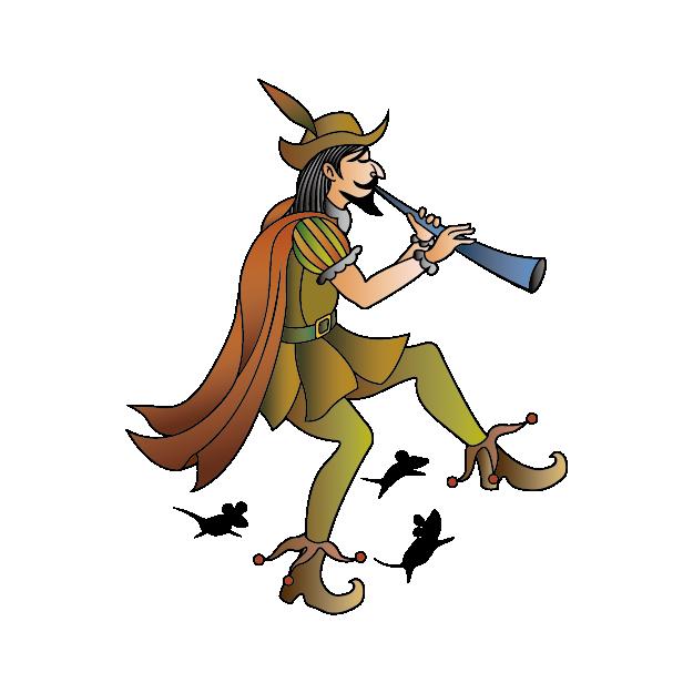 ドイツのネズミの童話『ハーメルンの笛吹き男』